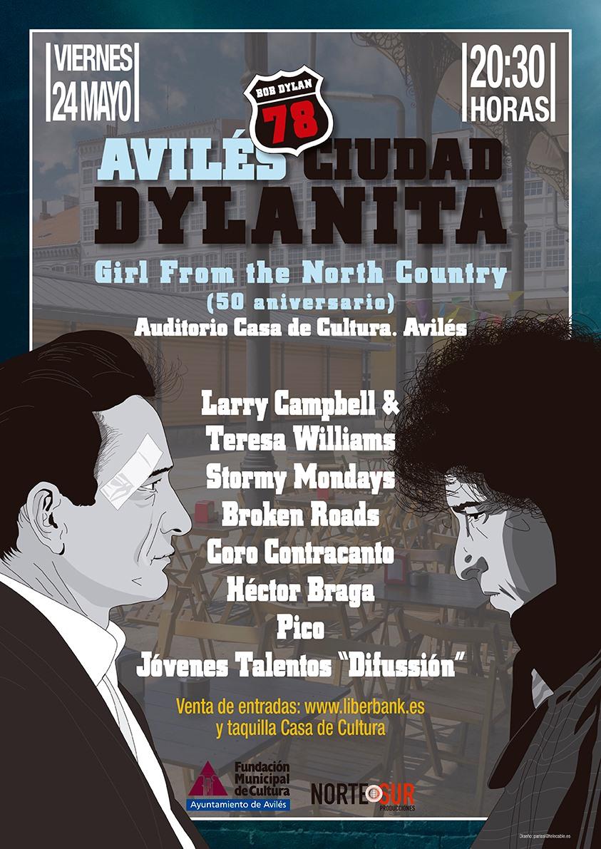 Celebrando El Cumpleaños De Bob Dylan Con Larry Campbell & Teresa Williams Y Más…